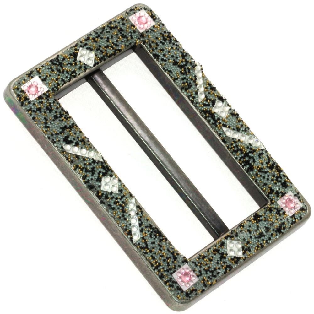 Clasp 500309/8,5cm | 76-silver/gold/black/rose