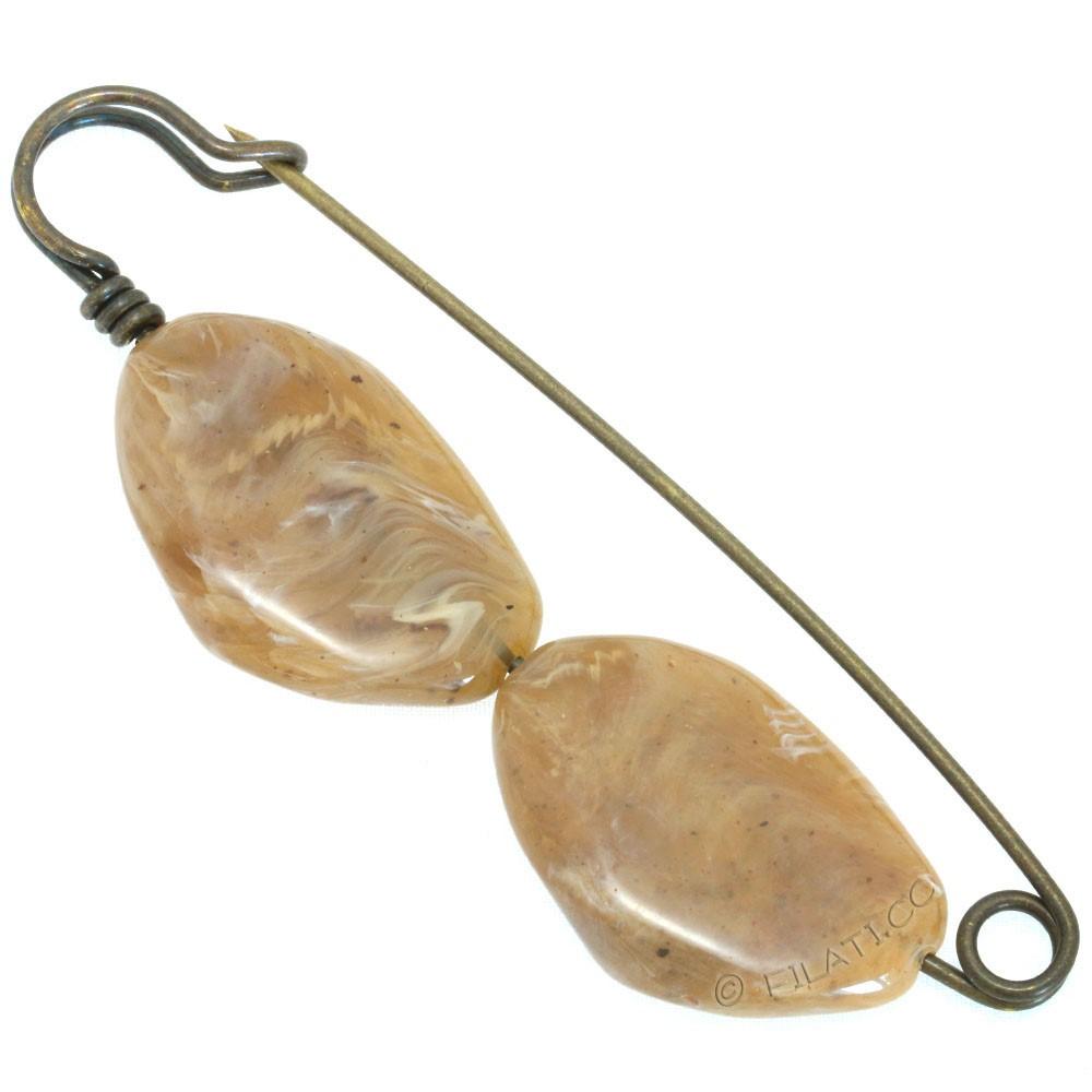 Kilt pin 500675/10cm | 18-beige