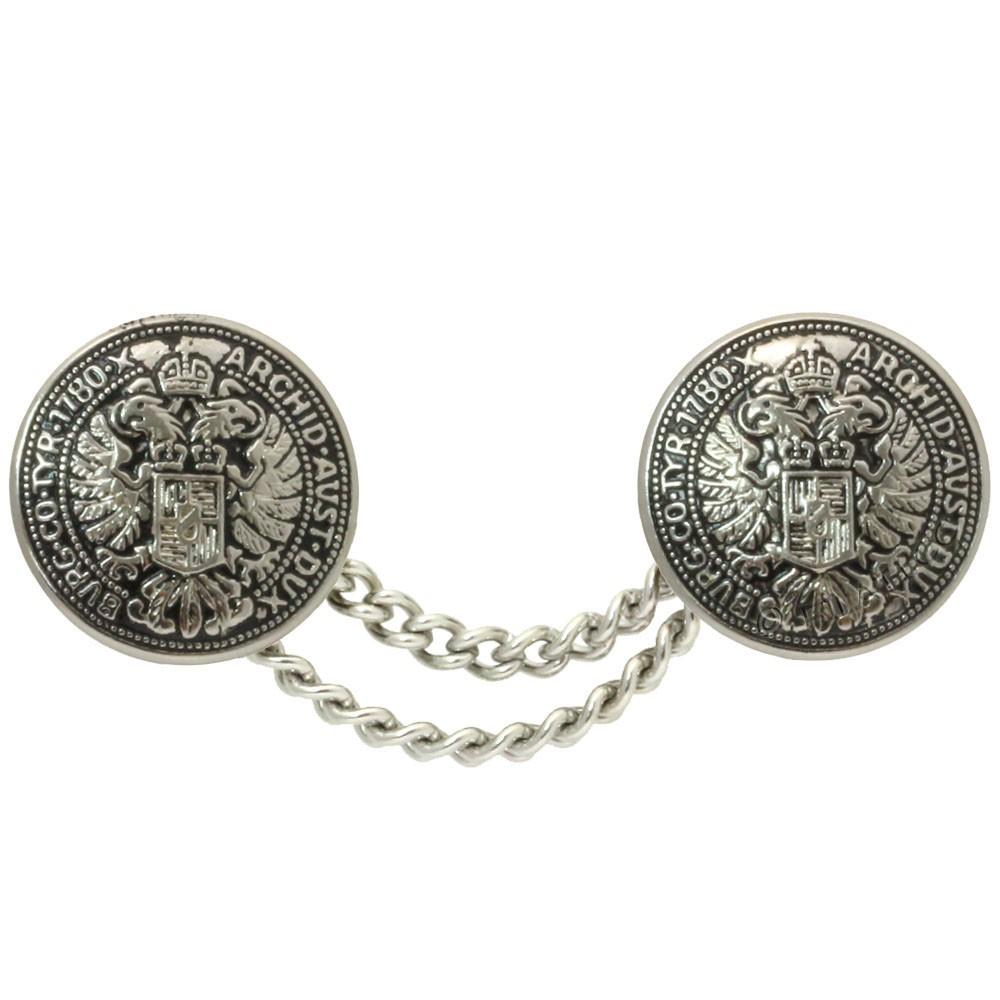 UNION KNOPF 53314/20mm | 831-silver