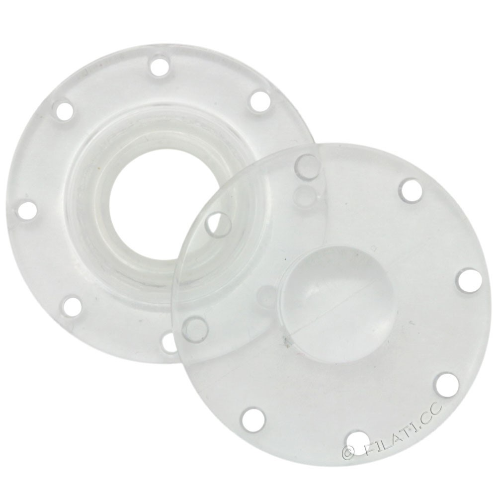 UNION KNOPF 58809/20mm | 10-transparent