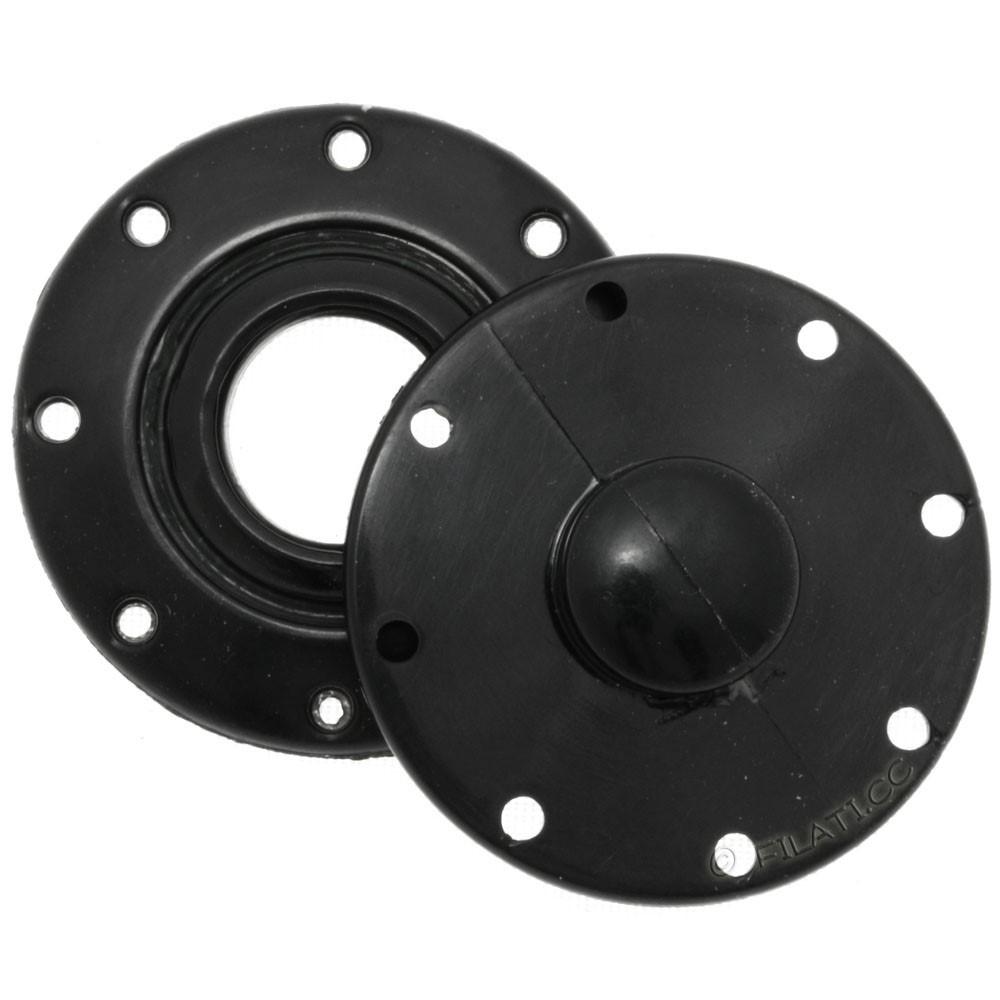 UNION KNOPF 58809/25mm   80-black