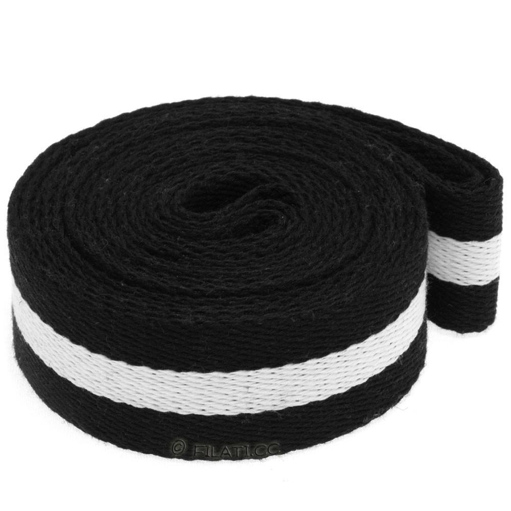 Strap for bags 965200 | 01-black/white