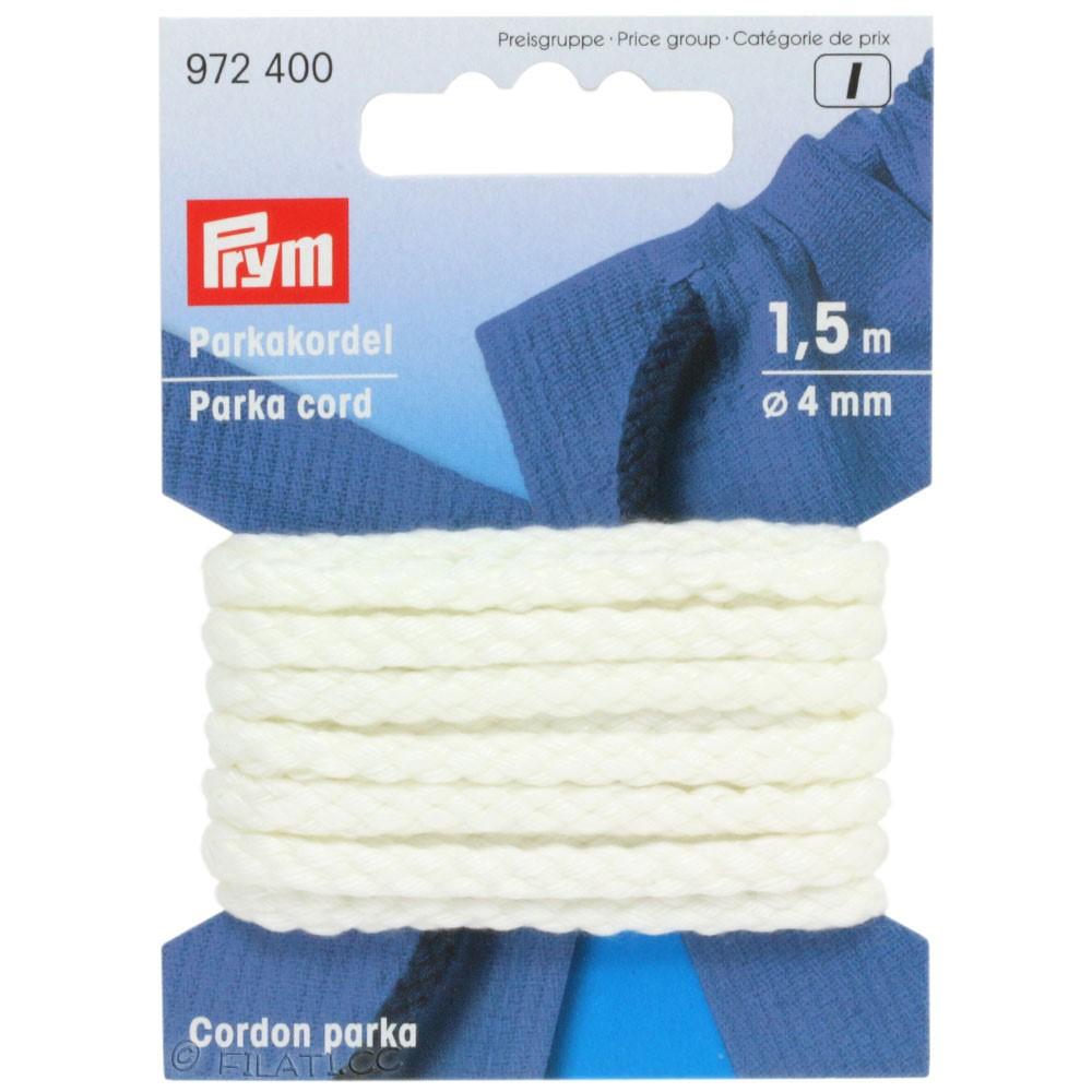 Parka cord 972400/1,5m | 400-white