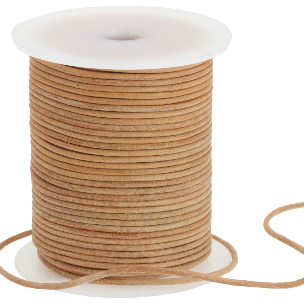 Leather cord 1233/105cm | 16-beige