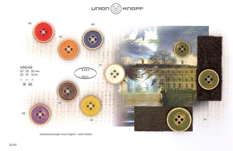 UNION KNOPF 48649/25mm