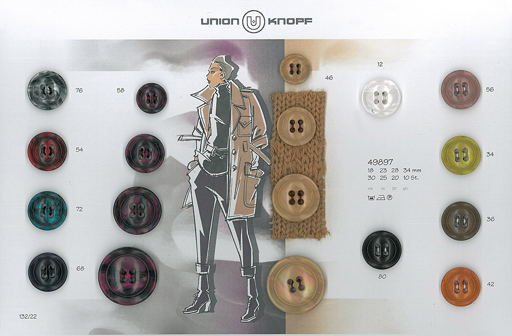 UNION KNOPF 49897/34mm