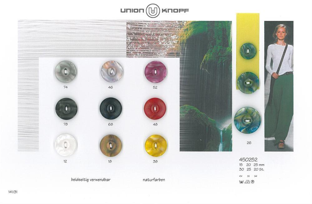 UNION KNOPF 450252/20mm