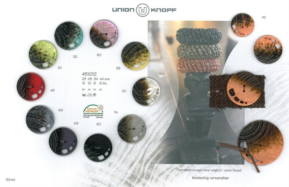 UNION KNOPF 451012/28mm