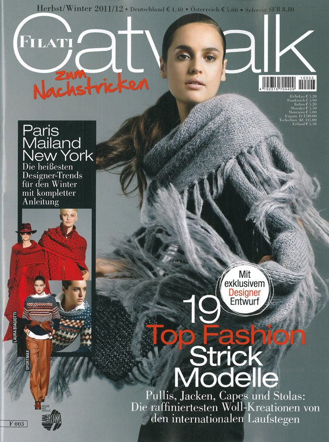 Lana Grossa FILATI Catwalk No. 3 (Winter 2011/12) - German Edition