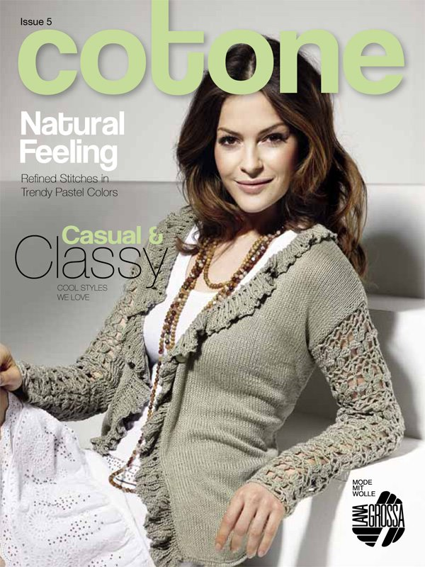 Lana Grossa COTONE Issue 5 - English Edition