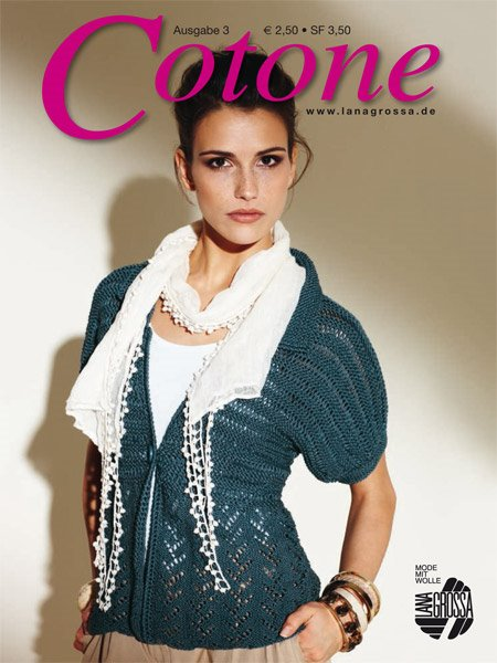 Lana Grossa COTONE Issue 3 - English Edition