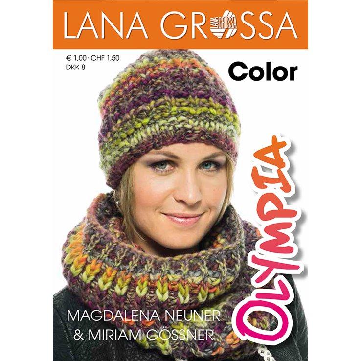 Lana Grossa Olympia Folder Color German Edition Olympia Folder