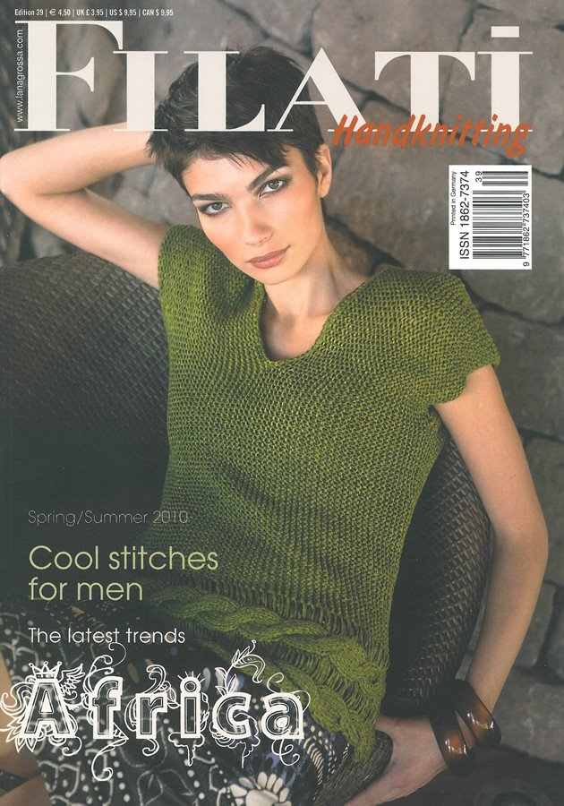 Lana Grossa FILATI Handknitting Issue 39 - English Edition