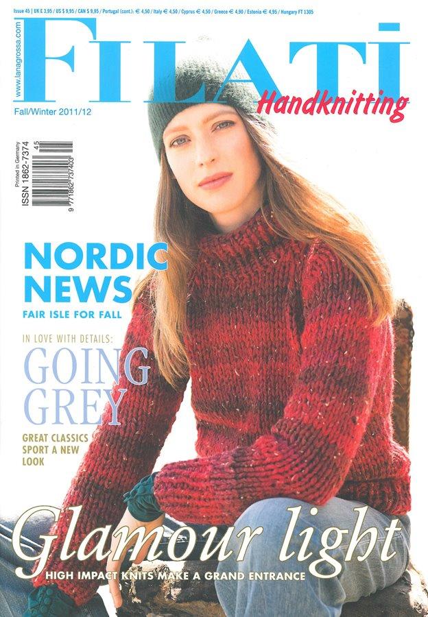 Lana Grossa FILATI Handknitting Issue 45 - English Edition