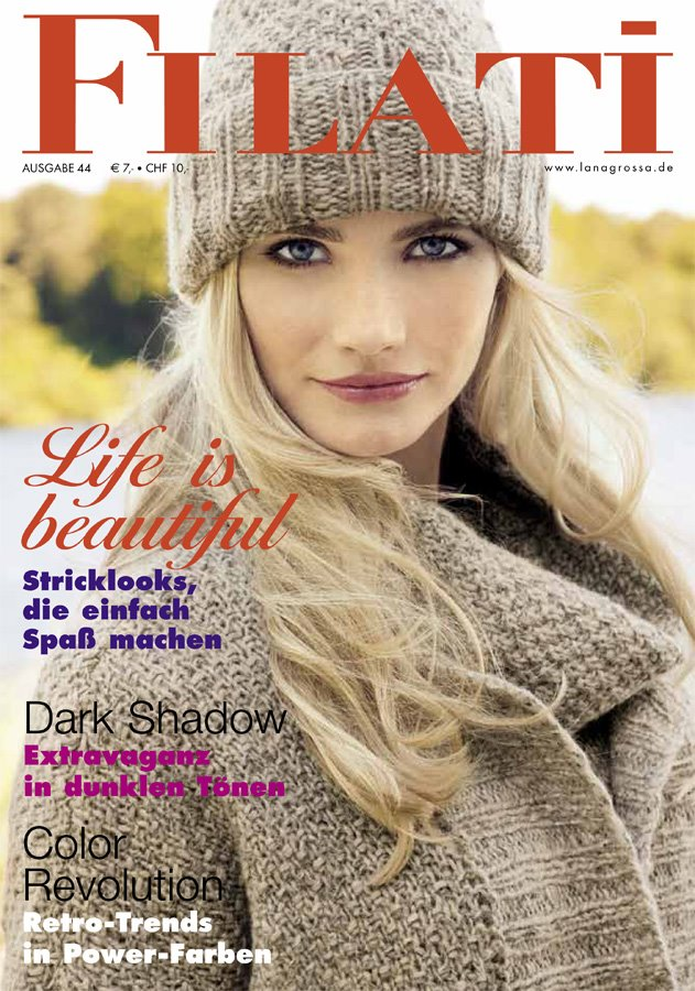 Lana Grossa FILATI No. 44 (Winter 2012/13) - German Edition