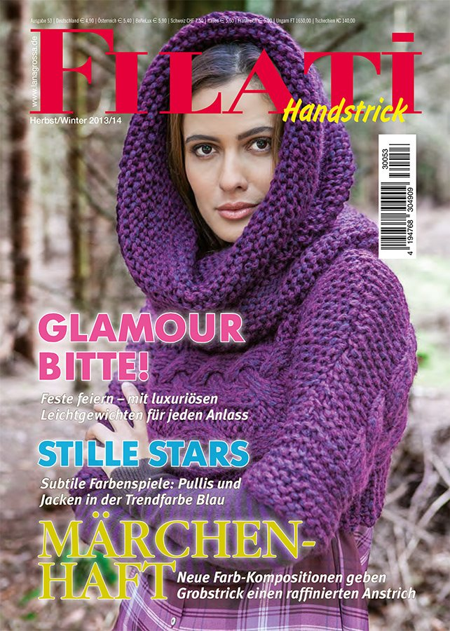 Lana Grossa FILATI Handstrick No. 53  - German Edition