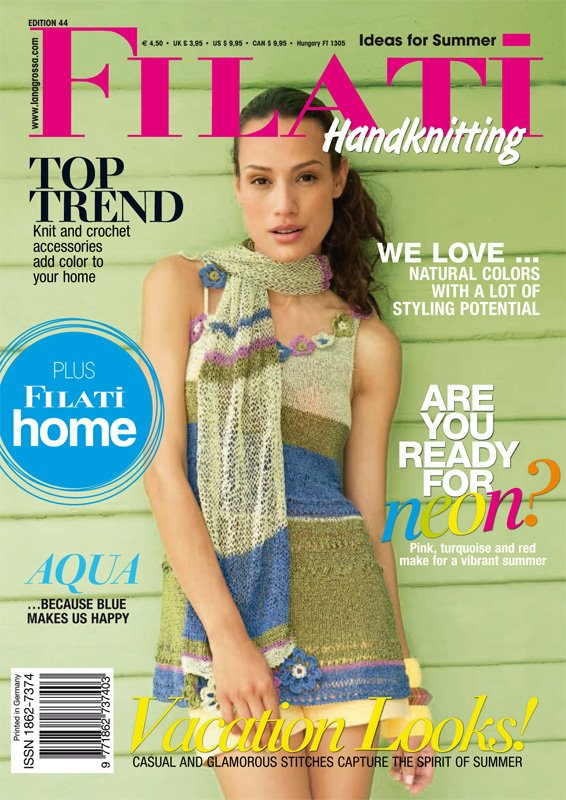 Lana Grossa FILATI Handknitting Issue 44 - English Edition