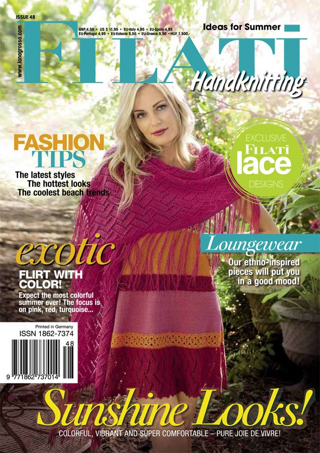 Lana Grossa FILATI Handknitting Issue 48 - English Edition