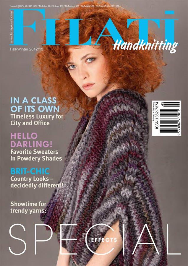 Lana Grossa FILATI Handknitting Issue 49 - English Edition