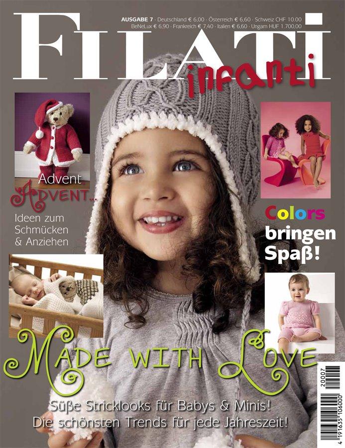 Lana Grossa FILATI INFANTI Issue 7 - English Edition