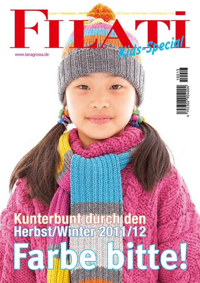 Lana Grossa FILATI KIDS SPECIAL No. 13 - German Edition