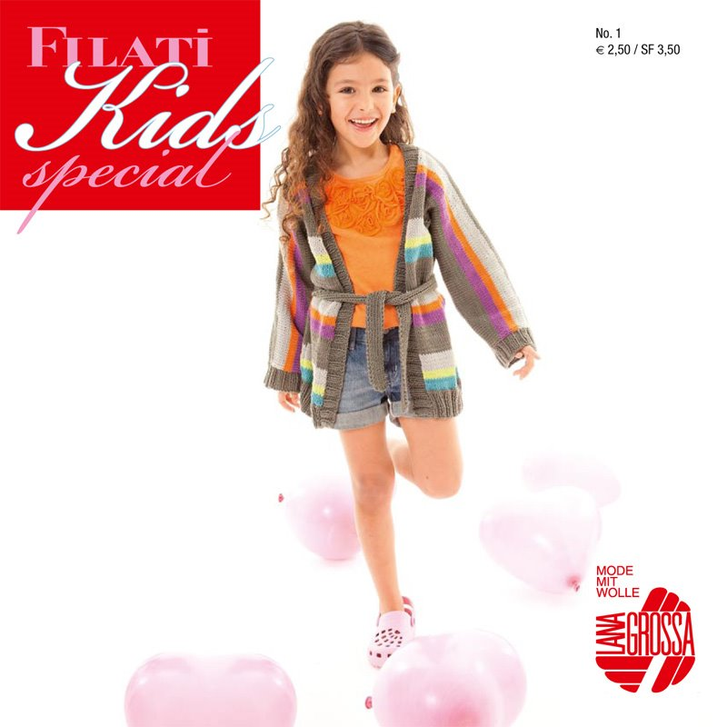 Lana Grossa FILATI KIDS special 1 - German Edition