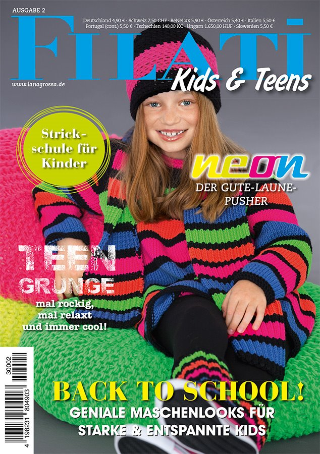 Lana Grossa FILATI Kids & Teens No. 2 - German Edition