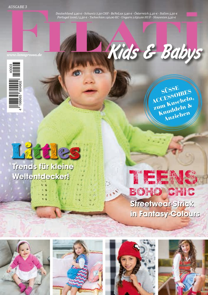 Lana Grossa FILATI Kids & Babys No. 3 - German Edition