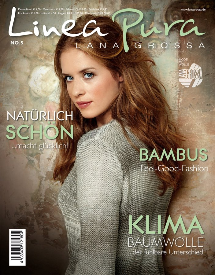 Lana Grossa LINEA PURA No. 5 - German Edition