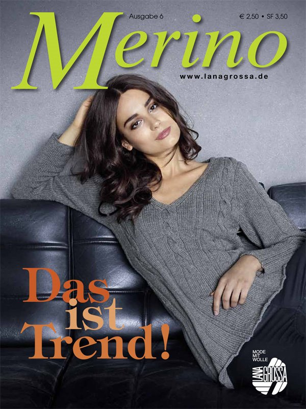 Lana Grossa MERINO No. 6 - German Edition