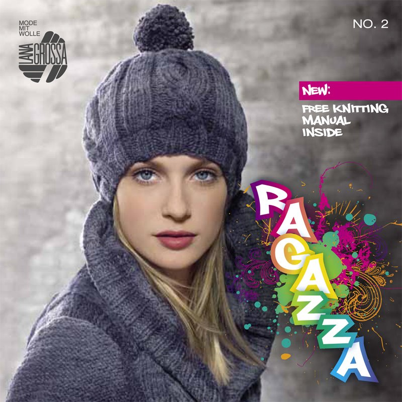 Lana Grossa RAGAZZA Issue 2 - English Edition