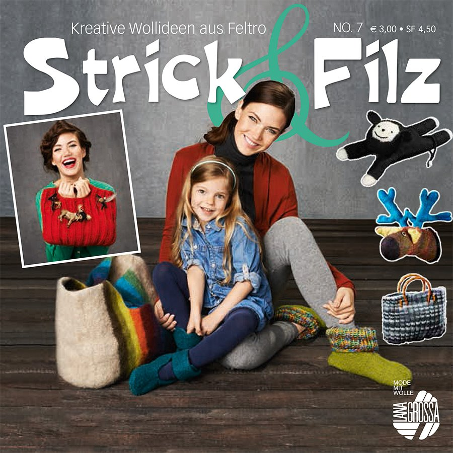 Lana Grossa STRICK & FILZ No. 7 - German Edition