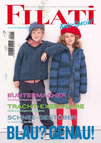 Lana Grossa FILATI KIDS SPECIAL No. 10 - German Edition
