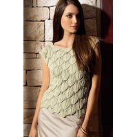 Lana Grossa TOP IN LEAF PATTERN Pico