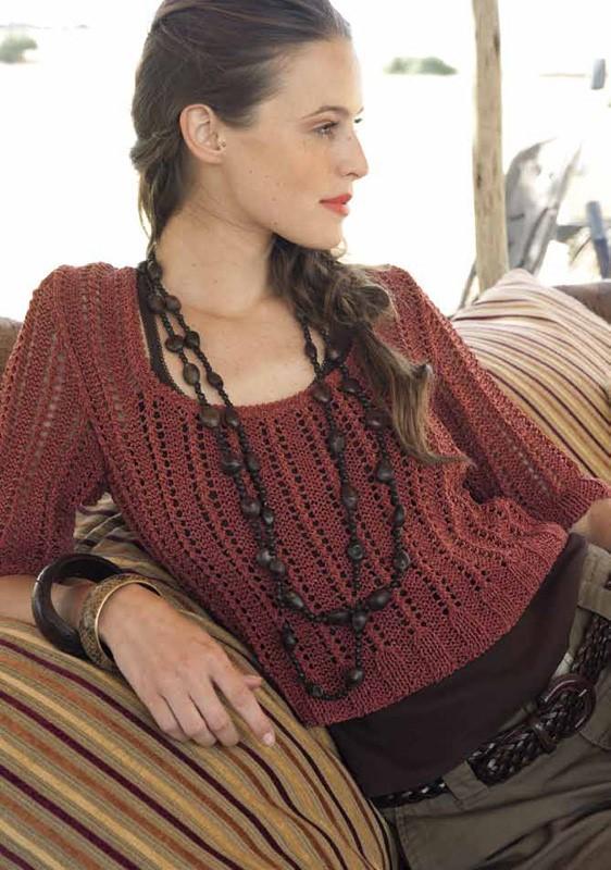 Lana Grossa Cropped Sweater SECONDO