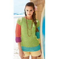 Lana Grossa STOCKINETTE STITCH SWEATER - Paradiso