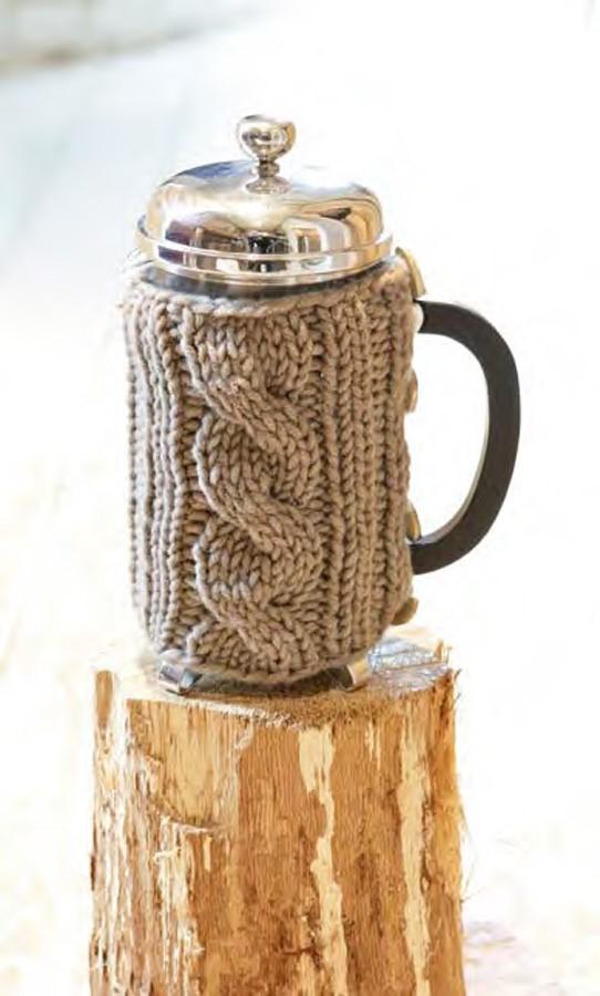 Lana Grossa Coffee Pot Cozy MILLE II