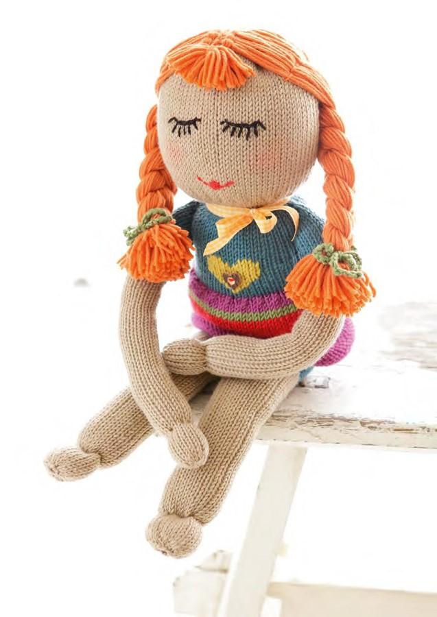 Lana Grossa Knit Doll Lotti COOL WOOL big