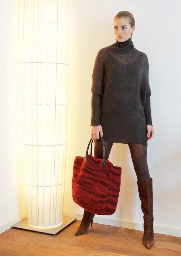 Lana Grossa Kimono Sweater SILKHAIR