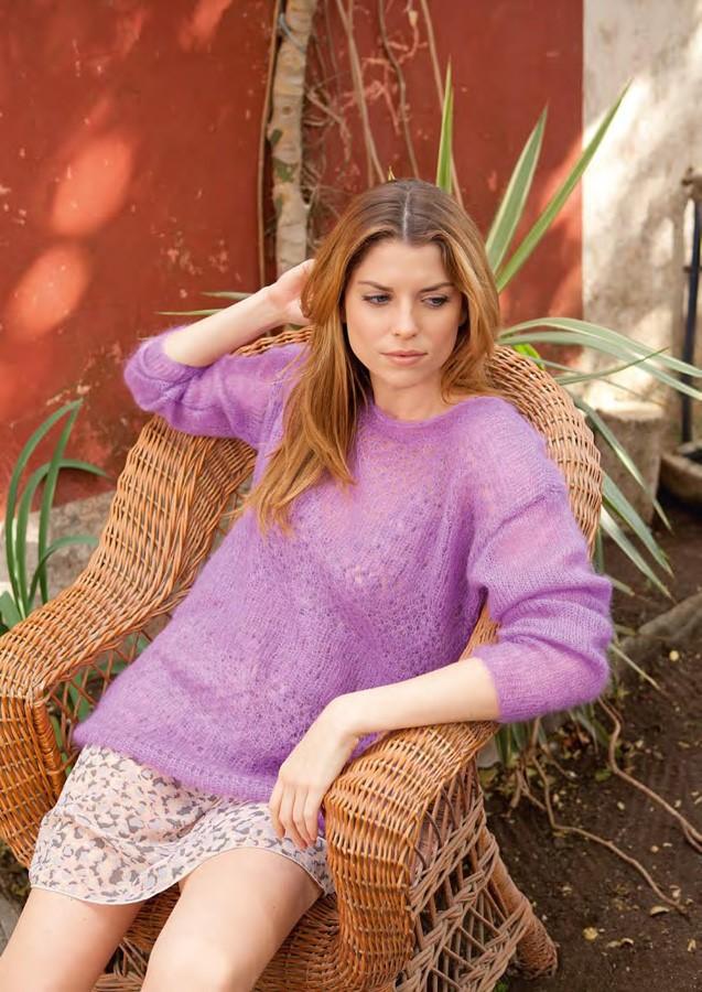 Lana Grossa Sweater SILKHAIR