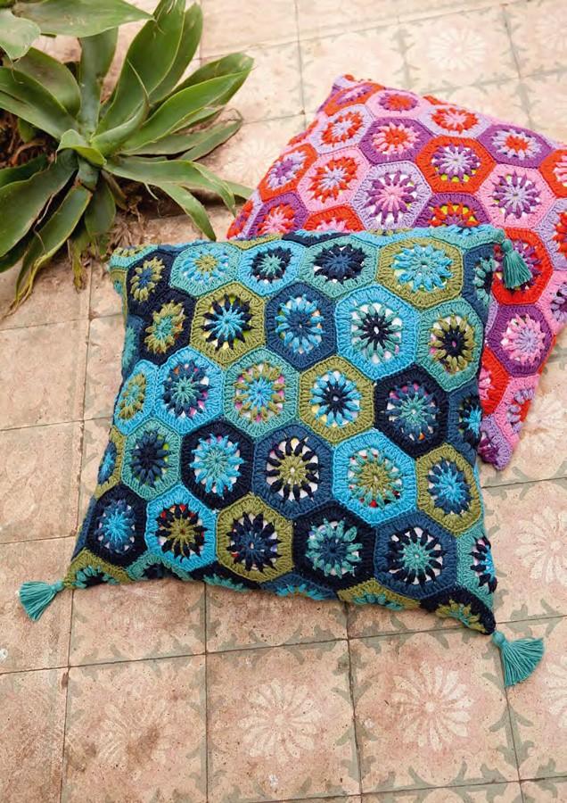 Lana Grossa Pillow Covers ORGANICO