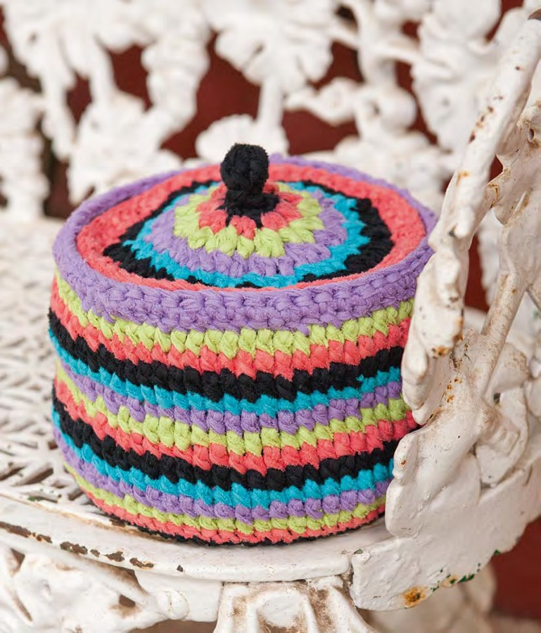 Lana Grossa Crochet Container with Lid PARADISO