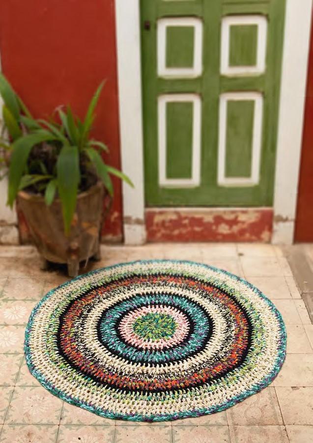 Lana Grossa Crochet Rug PARADISO