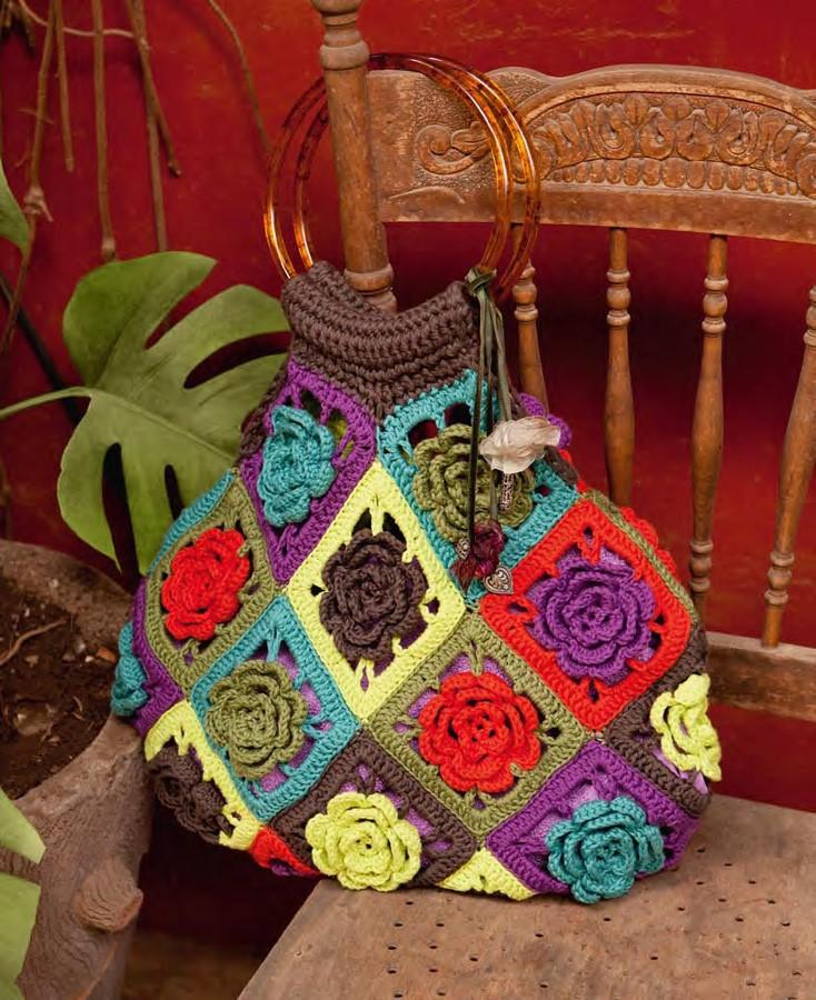 Lana Grossa Flower Satchel ORGANICO