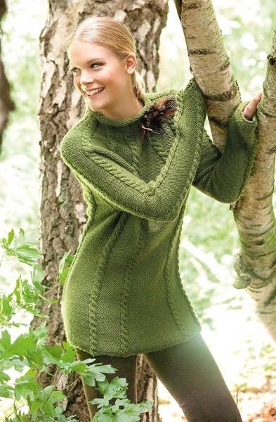 Lana Grossa Sweater BINGO melange