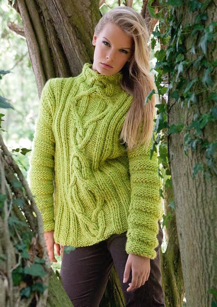Lana Grossa Sweater LEI