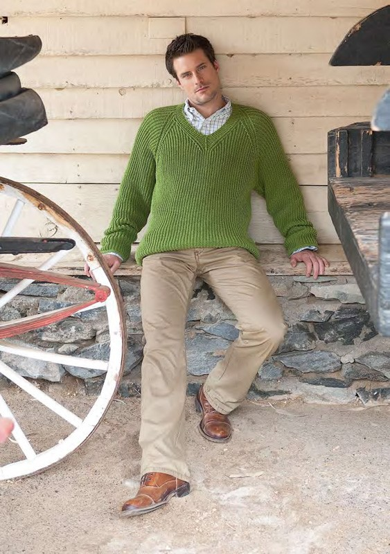 Lana Grossa Sweater COOL WOOL 2000