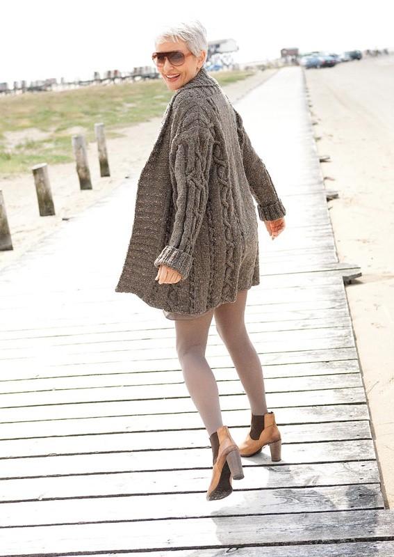 Lana Grossa Coat ROYAL TWEED