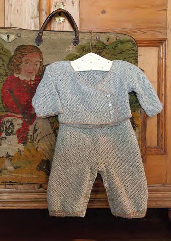 Lana Grossa Baby Surplus Jacket SOLOCASHMERE 110