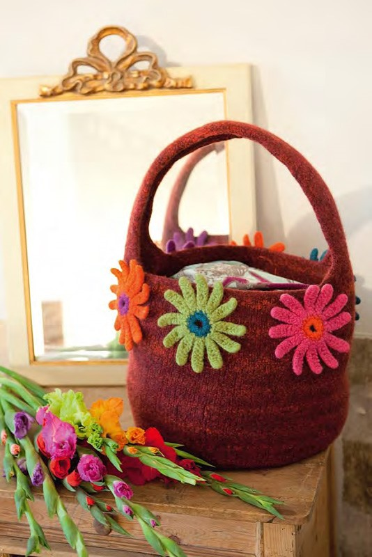 Lana Grossa Felt Bag LEI color/FELTRO